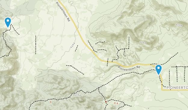 Pioneertown, California Map