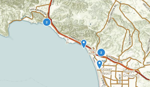 Pismo Beach, California Map