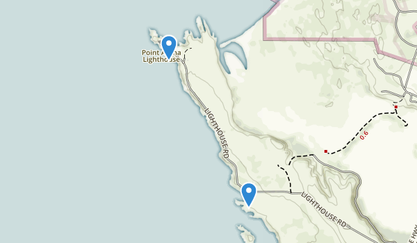 Point Arena, California Map