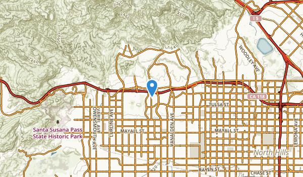 Porter Ranch, California Map