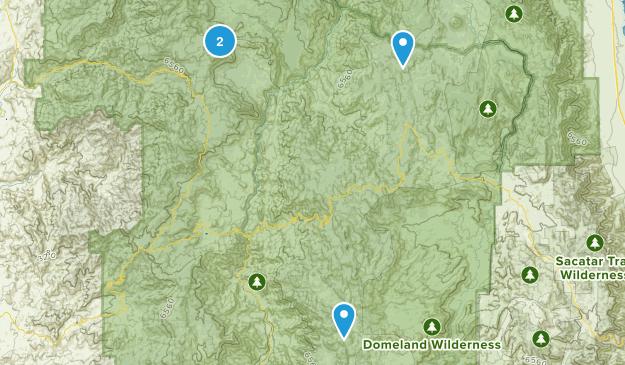 Porterville, California Map