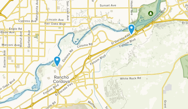 Rancho Cordova California Map.Best Trails Near Rancho Cordova California Alltrails