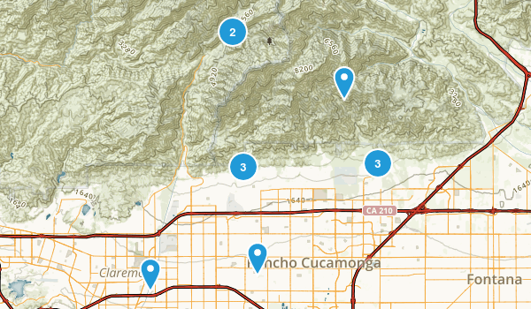 Best Trails near Rancho Cucamonga California AllTrails
