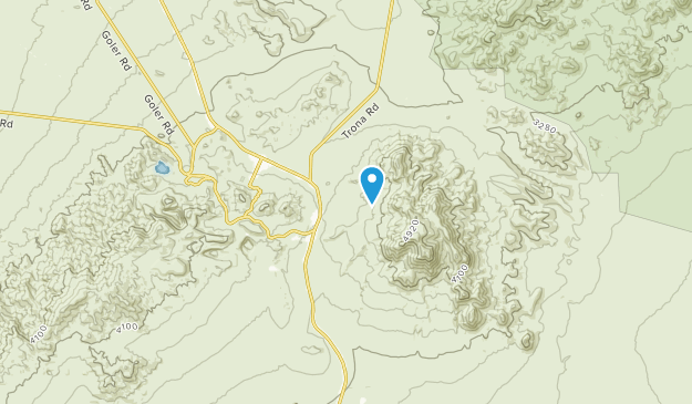 Red Mountain, California Map