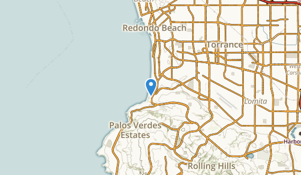 Redondo Beach, California Map