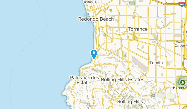 Redondo Beach, California Map