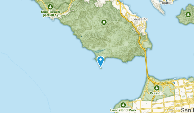 Rodeo Beach, California Map