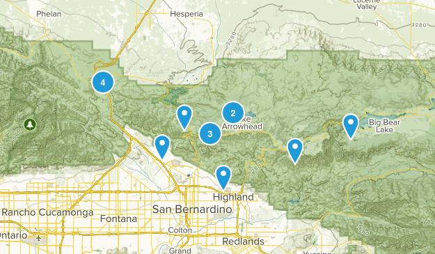 San Bernardino, California Map