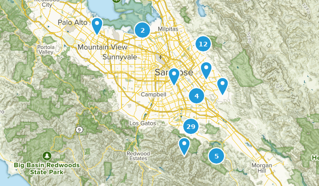 San Jose, California Map