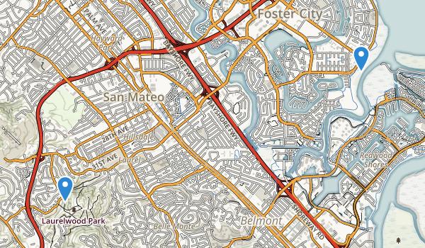San Mateo, California Map