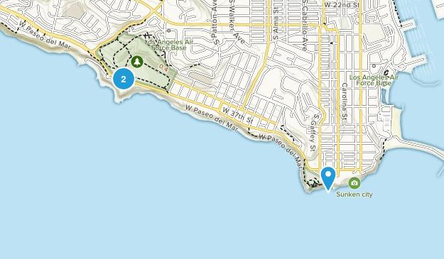 San Pedro, California Map