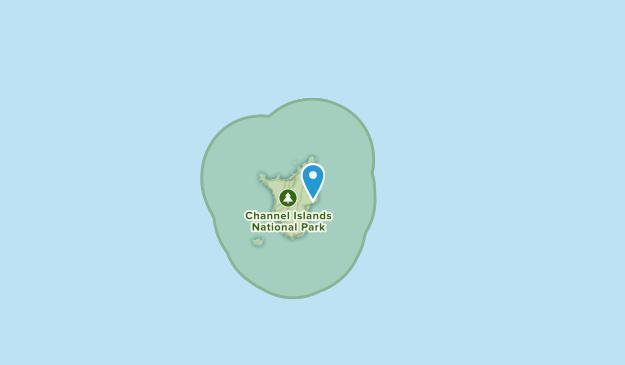 Santa Barbara Island, California Map