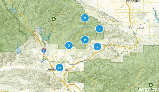 Santa Clarita, California Map