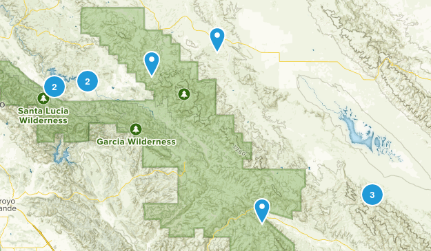 Santa Margarita, California Map