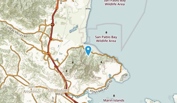 Santa Venetia, California Map
