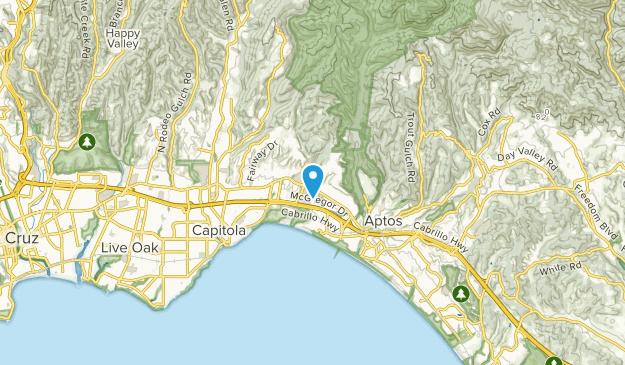 Seacliff, California Map