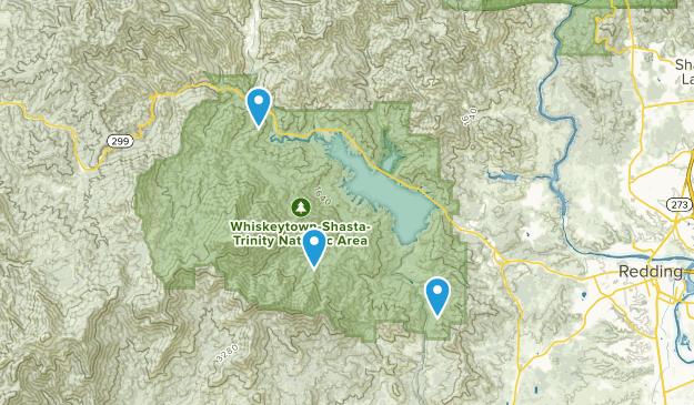 Shasta, California Map