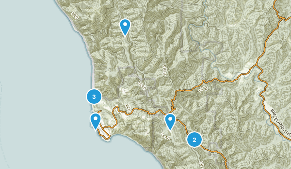 Shelter Cove, California Map