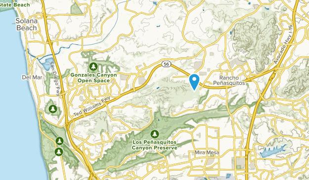 Sorrento Valley, California Map