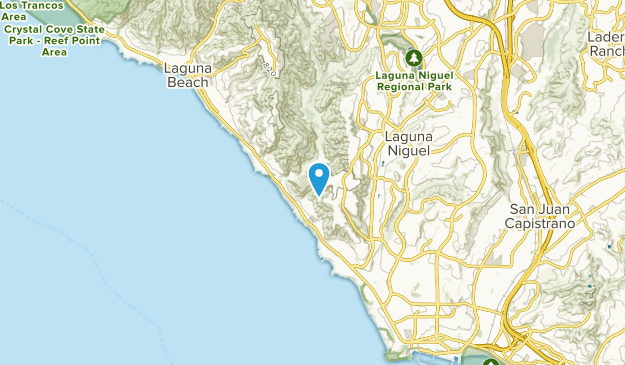 South Laguna, California Map