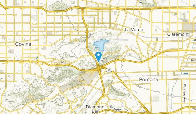 Spadra, California Map