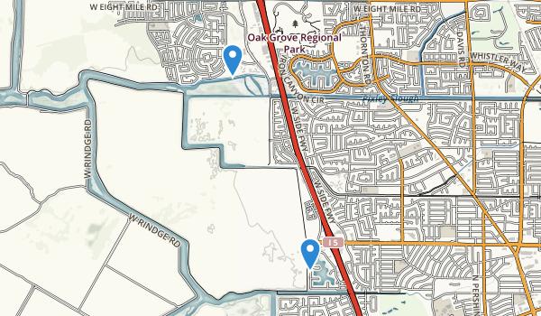 Us Map Stockton California