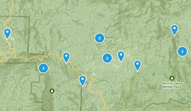 Stony Creek Village, California Map