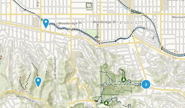 City California Map.Best Trails Near Studio City California Alltrails