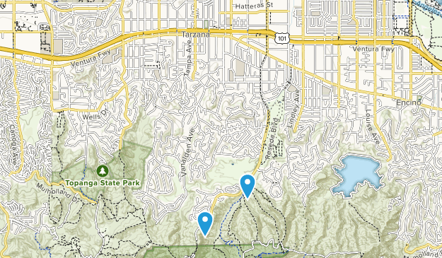 Tarzana, California Map