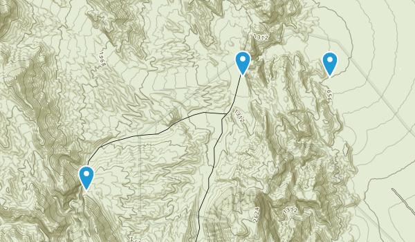 Teakettle Junction, California Map
