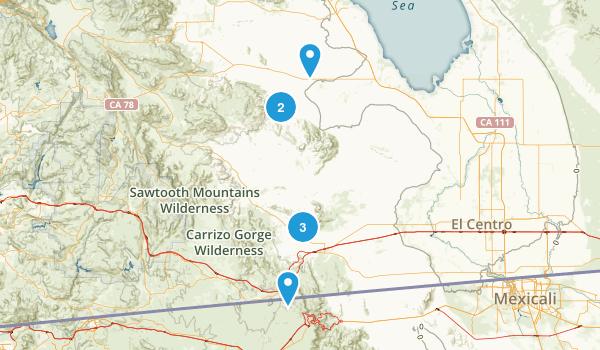 Thermal, California Map