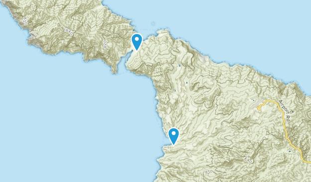 Two Harbors, California Map