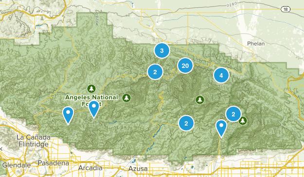 Valyermo, California Map