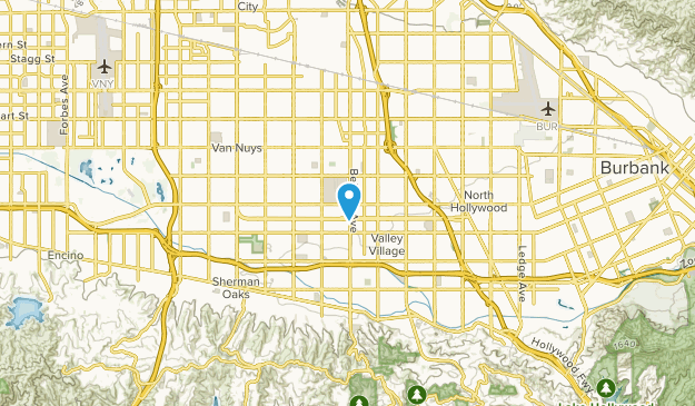Van Nuys, California Map