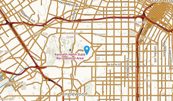 View Park-Windsor Hills, California Map