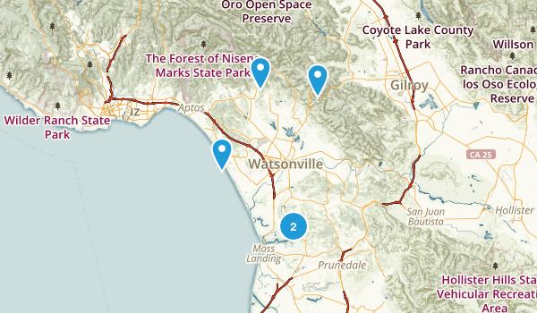 Watsonville, California Map