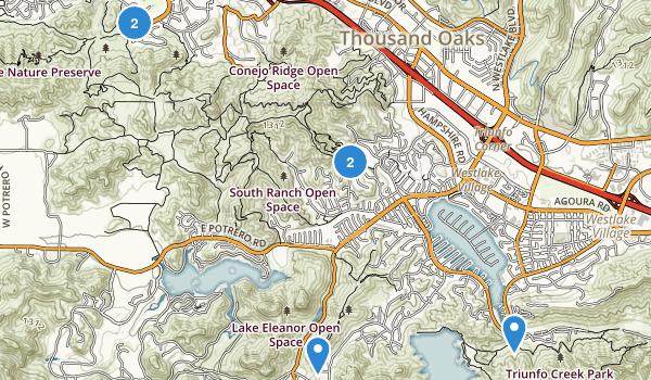 Westlake Village, California Map