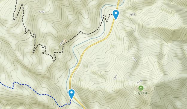 Wilbur Springs, California Map