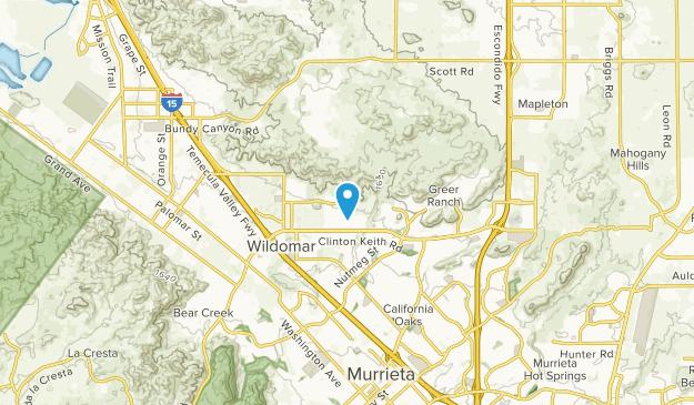 Wildomar, California Map