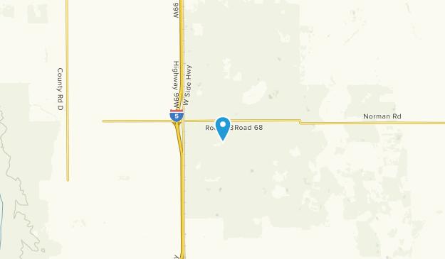 Willows, California Map
