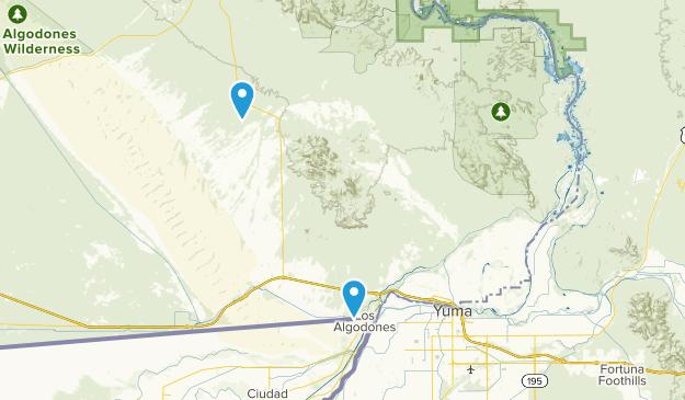 Winterhaven, California Map