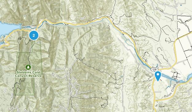 Winters, California Map