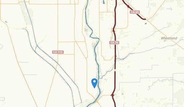 Yuba City, California Map