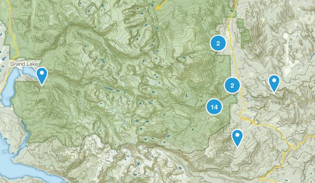 Allenspark, Colorado Map