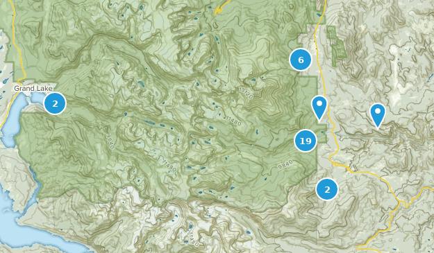 Colorado Karte Fluss.Beste Wege In Der Nahe Von Allenspark Colorado Alltrails