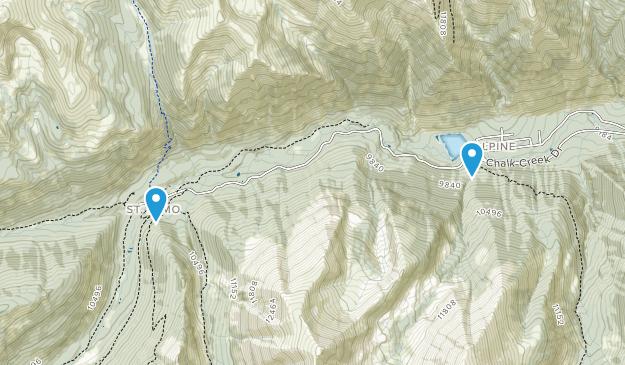 Alpine, Colorado Map