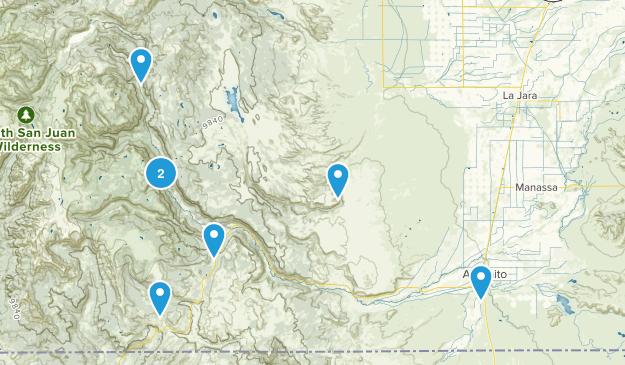 Antonito, Colorado Map