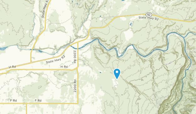 Austin, Colorado Map