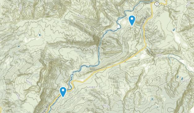 Bond, Colorado Map