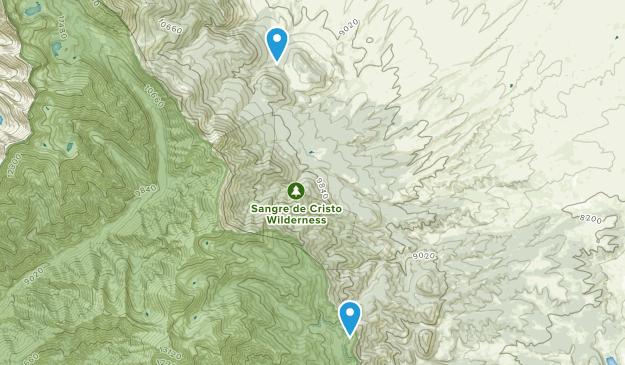 Bradford, Colorado Map